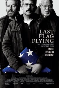 • LAST FLAG FLYING, Richard Linklater staring Bryan Cranston, Steve Carrell and Laurence Fishburne imgur photo credit