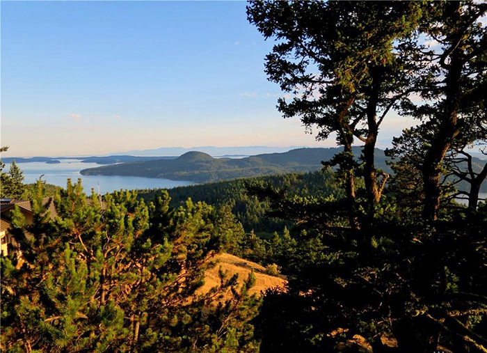 orcas island in the san juan islands amazing views