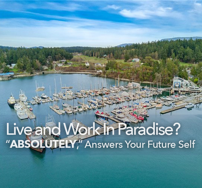 live and work in paradise windermere real estate orcas island wally gudgell group san juan islands salish sea business for sale