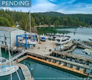 west sound marina wally gudgell group windermere orcas island pending
