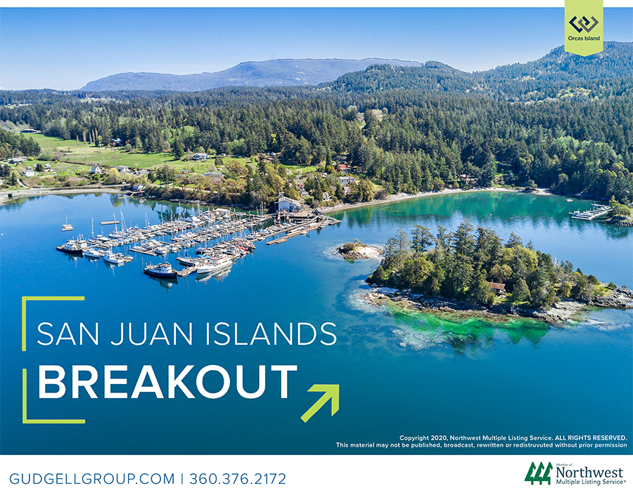 Matthew Gardner Chief Financial Officer Windermere Real Estate Orcas Island Wally Gudgell Group San Juan Islands Salish Sea Q2 Real Estate Market Report Breakout 2020