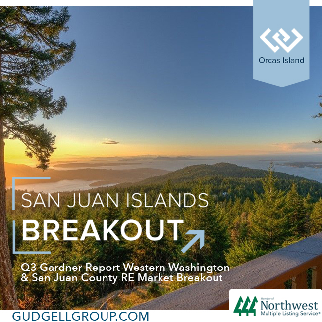 western washington gardner report san juan county has greatest increase wally gudgell group windermere real estate san juan islands salish sea housing market statistic link
