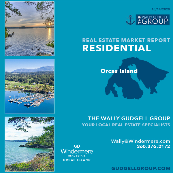 orcas island real estate market statistics windermere orcas island san juan islands salish sea wally gudgell group