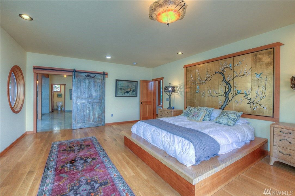 Foster Point Luxury Waterfront Home For Sale Orcas Island Real Estate Windermere Gudgell Group master suite