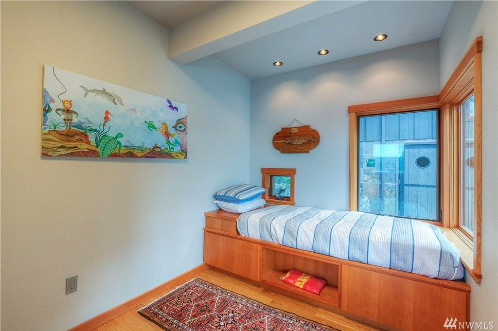 Foster Point Luxury Waterfront Home For Sale Orcas Island Real Estate Windermere Gudgell Group childrens suite