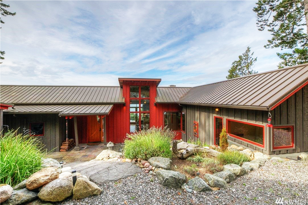 Foster Point Luxury Waterfront Home For Sale Orcas Island Real Estate Windermere Gudgell Group luxury home