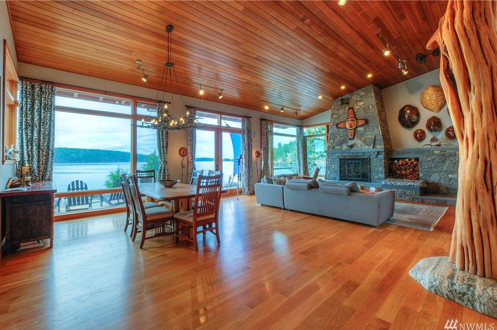 Foster Point Luxury Waterfront Home For Sale Orcas Island Real Estate Windermere Gudgell Group