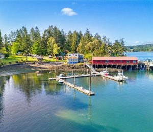 shaw island general store and marina for sale wally gudgell group windermere orcas island realty