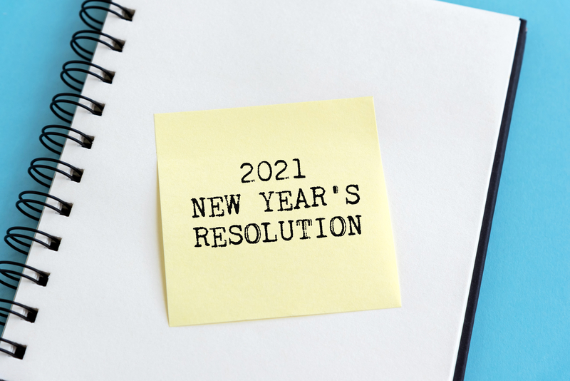 new years resolution 2021 worksheet business success fitness finance strategy change motivation inspiration wally gudgell group windermere real estate orcas island realty san juan islands salish sea ID187932089 Noracarol Dreamstime