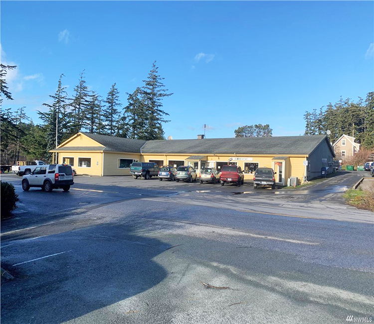 Eastsound commercial building orcas island investment for sale wally gudgell group windermere orcas island