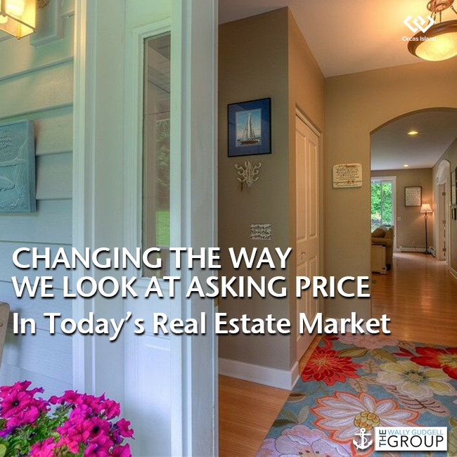 wally gudgell group blog windermere real estate orcas island realty todays real estate market listing price reserve prices buyers and sellers change thinking