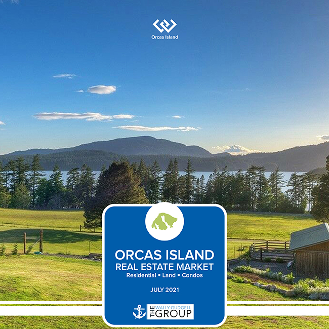 orcas island real estate realty market report wally gudgell group windermere san juan county